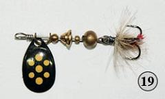 Доработка и переделка вращающихся блёсен (вертушек) Mepps, Lucris, Jerry's Flies - изготовление приманок для спиннинга своими руками