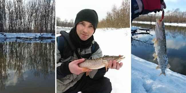 когда на реке можно ловить на спиннинг весной