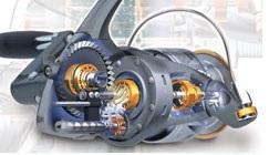 Системы и технологии применяемые в спиннинговых катушках Шимано.